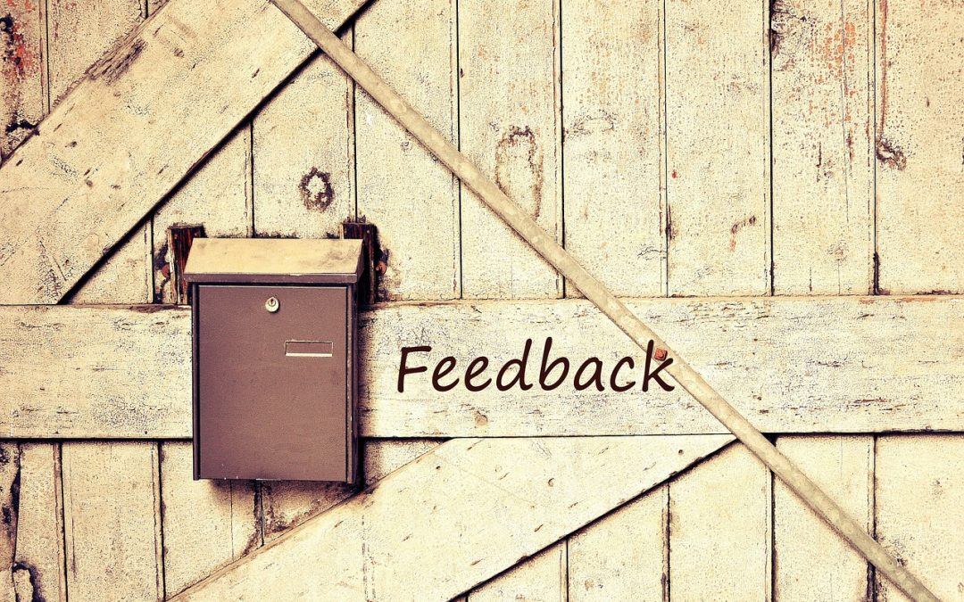 There's no such thing as failure…only feedback.